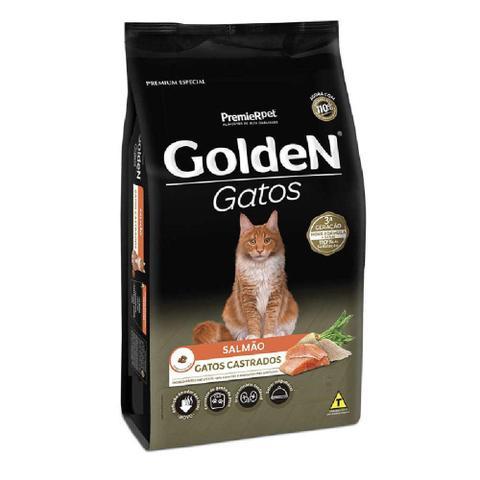 Imagem de Ração Golden Gatos Castrados Salmão 10,1kg