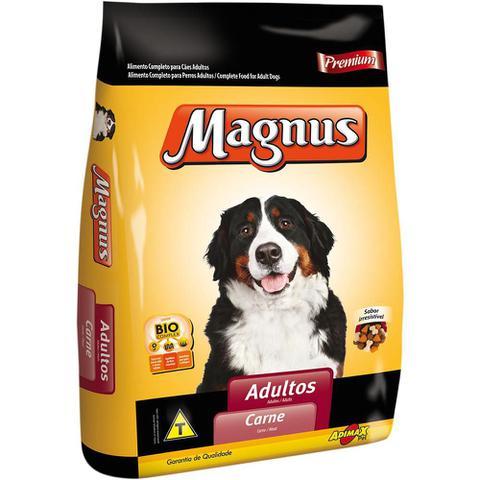 Imagem de Ração Magnus Premium Carne para Cães Adultos-25 Kg