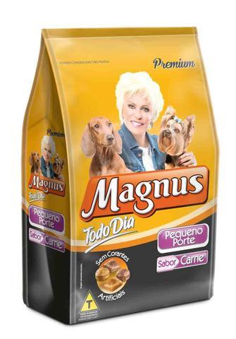 Imagem de Ração Magnus Premium Todo Dia para Cães Adultos de Pequeno Porte Sabor Carne-1 Kg