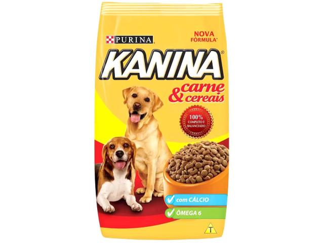 Imagem de Ração para Cachorro Kanina Carne & Cereais Adulto