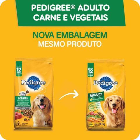 Imagem de Ração Pedigree Carne e Vegetais Para Cães Adultos Raças Médias e Grandes 18 kg