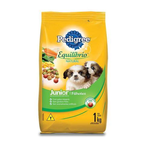 Imagem de Ração Pedigree Equilíbrio Natural Junior para Cães Filhotes - 1 Kg