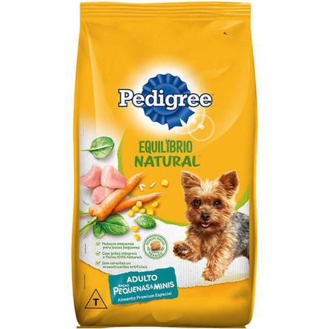 Imagem de Ração Pedigree Equilíbrio Natural para Cães Adultos de Raças Pequenas - 1 Kg