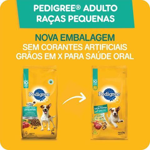 Imagem de Ração Pedigree Para Cães Adultos Raças Pequenas 15 kg