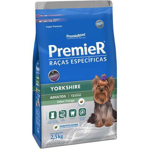 Imagem de Ração Premier Raças Específicas para Yorkshire Terrier Adultos Sabor Frango - Premier Pet