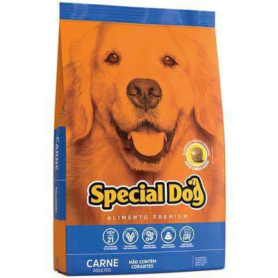 Imagem de Ração Premium Special Dog Sabor Carne para Cães Adultos 15 kg