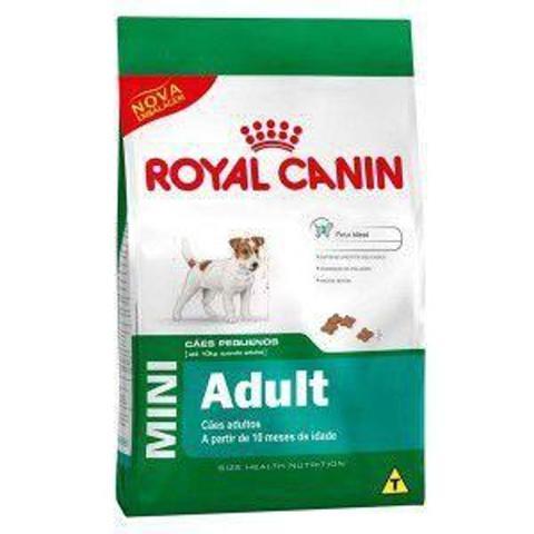 Imagem de Ração Royal Canin Mini Adult para Cães Adulto da Raças Pequenas