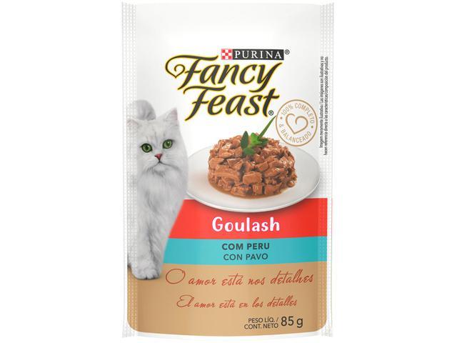 Imagem de Ração Úmida para Gato Adulto Sachê Fancy Feast