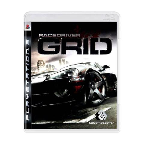 Jogo Race Driver Grid - Playstation 3 - Codemasters