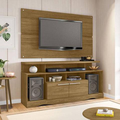 Imagem de Rack Centurine com Painel Caimam Tv até 55 pol Cinamomo