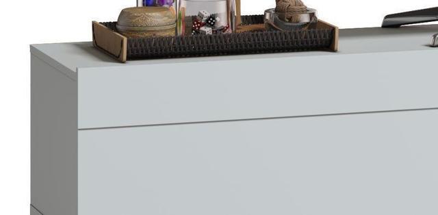 Imagem de Rack Classic 3G 2.2 Branco Acetinado - Imcal Móveis