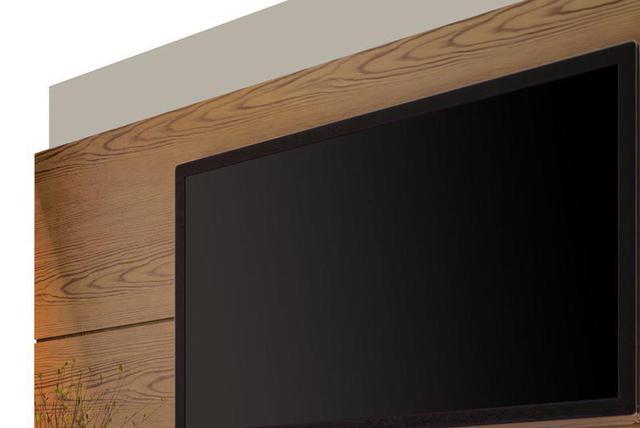 Imagem de Rack com Painel Classic 2G 1.8 Freijó com Off White - Imcal Móveis