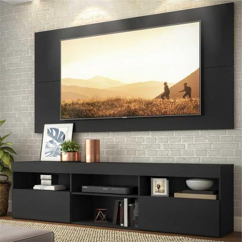 Imagem de Rack com Painel e Suporte para TV para TV até 65