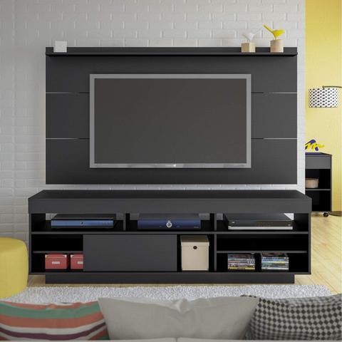 Imagem de Rack com Painel para TV até 42 Polegadas Preto
