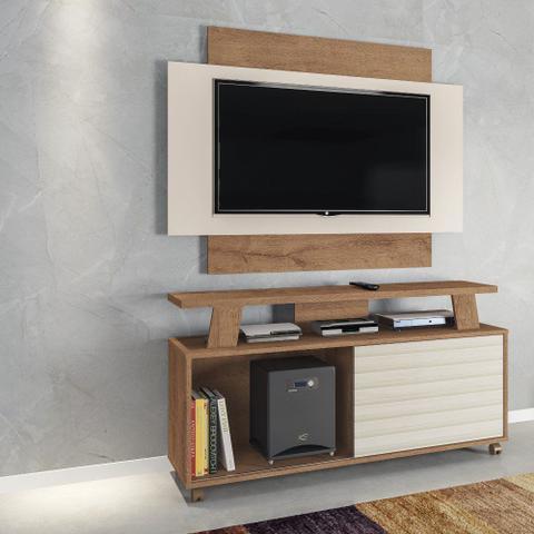 Imagem de Rack com Painel para TV até 50 Polegadas 1 Porta Flex Rivera Atualle