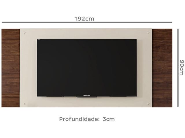 """Imagem de Rack com Painel para TV até 55"""" 2 Portas"""