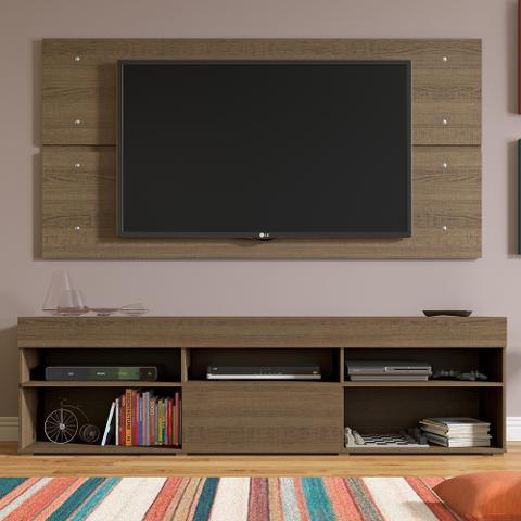 Imagem de Rack com Painel para TV até 65 Polegadas Madesa Miami 1 Porta