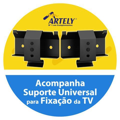 Imagem de Rack com Painel Roma 1 Porta Artely