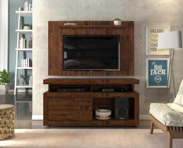 Imagem de Rack com Rodízios para Tv 55