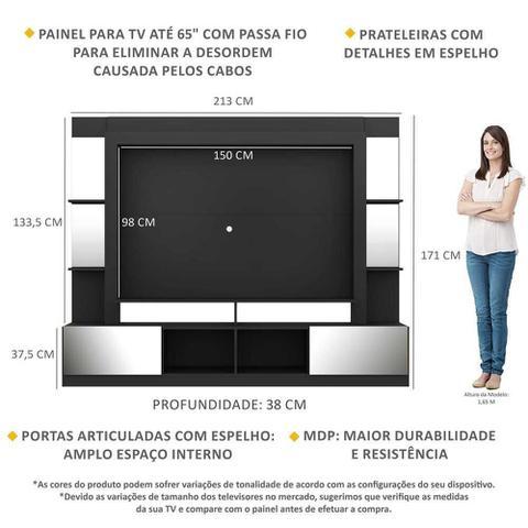 Imagem de Rack Estante c/ Painel TV 65