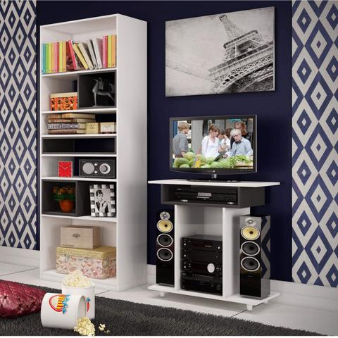 Imagem de Rack Jr para TVs até 32 Polegadas 1120 Móveis Percasa Branco