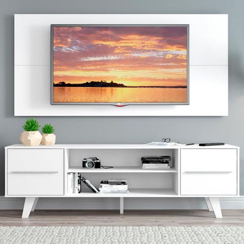 Imagem de Rack Madesa Copenhagen e Painel para TV até 50 Polegadas