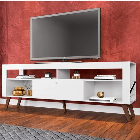 Imagem de Rack para TV até 55 Polegadas Quebec Sala Contemporâneo Art in Móveis Branco