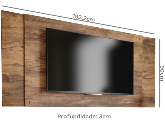 """Imagem de Rack para TV com Painel até 55"""" 2 Portas"""