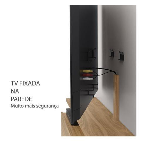 Imagem de Rack suspenso Nature 181cm  Prateleira  Suporte TV até 80 sem painel