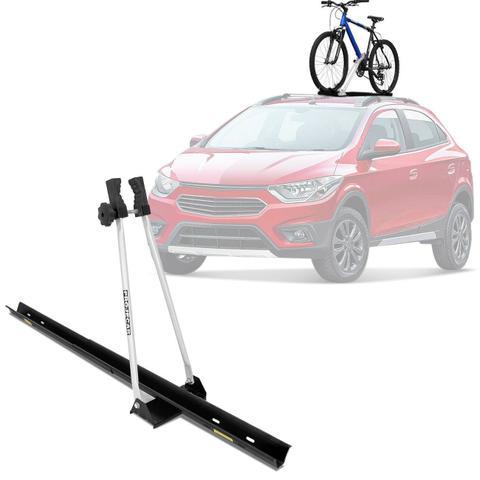 Imagem de Rack Transbike De teto Suporte Para 1 Bicicleta Preto e Prata Universal