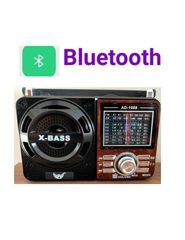 Imagem de Rádio antigo vintage retrô FM AM SW pendrive SD USB com lanterna