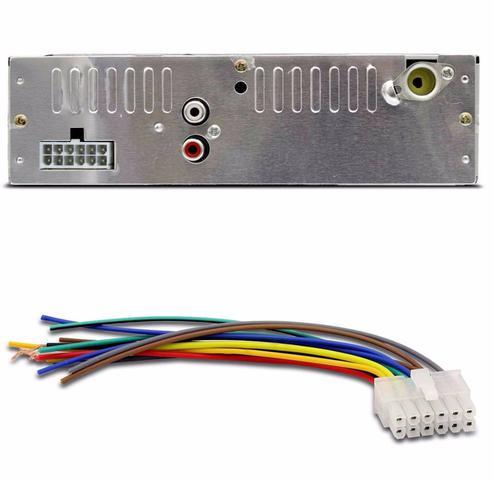 Imagem de Rádio Automotivo Mp3 Com Porta USB Sd Fm Com Bluetooth