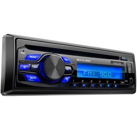 Imagem de Rádio Automotivo Pendrive Cd Player Mp3 Freedom P3239 Multilaser