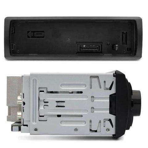Imagem de Rádio Automotivo Pioneer MVH-98UB MP3 Player 1 Din LCD Media Receiver Smartphone Android USB AUX