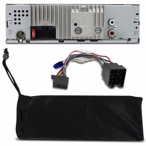 Imagem de Rádio Automotivo Pioneer MVH-98UB Usb Auxiliar Frontal Rca