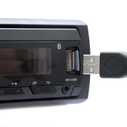 Imagem de Rádio Automotivo Pioneer Mvh-S218bt USB Auxiliar Frontal Bluetooth Rds USB