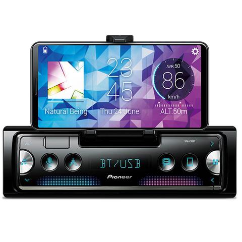 Imagem de Rádio Automotivo Pioneer SPH-C10BT Som Bluetooth MP3 Player 1 Din LCD Smart Sync Android Iphone