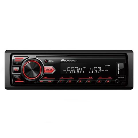 Imagem de Rádio Automotivo Player Pioneer MVH-088UB Mp3 Usb Auxiliar Frontal 23Wx4