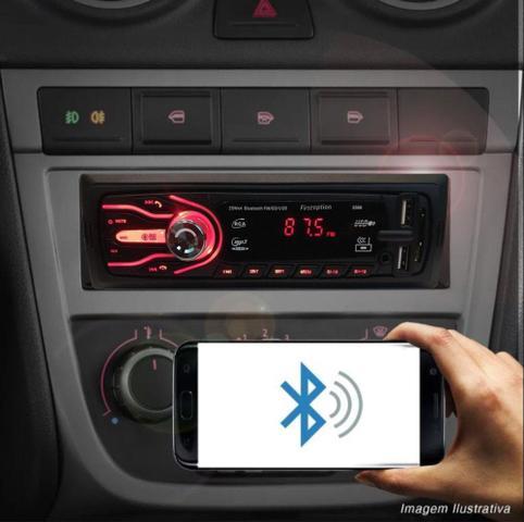 Imagem de Rádio Bluetooth Aparelho De Som Carro Vw Gol G3 G4 G5 Automotivo Pendrive Sd Rádio