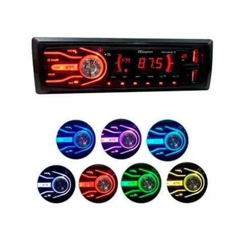 Imagem de Rádio Bluetooth Aparelho Som Automotivo Mp3 Usb Sd Fm Rádio
