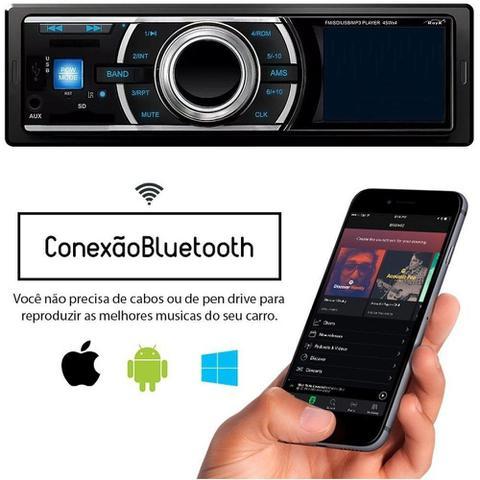 Imagem de Radio Bluetooth Som Mp3 Usb Sd Saídas Rca Automotivo 3565bt