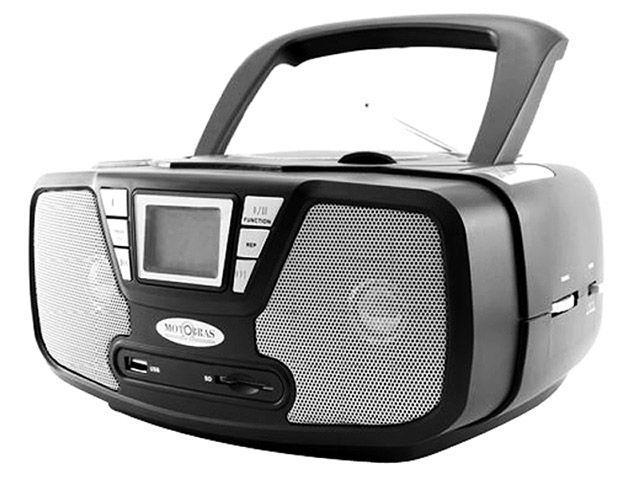 Imagem de Rádio Bombox Portátil AM / FM / USB / MP3 2,4W RMS