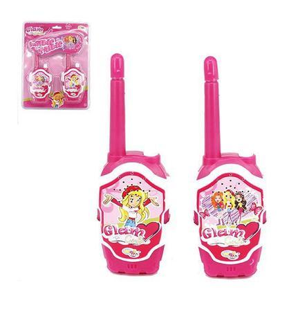 Imagem de Rádio comunicador walkie talkie infantil glam girls