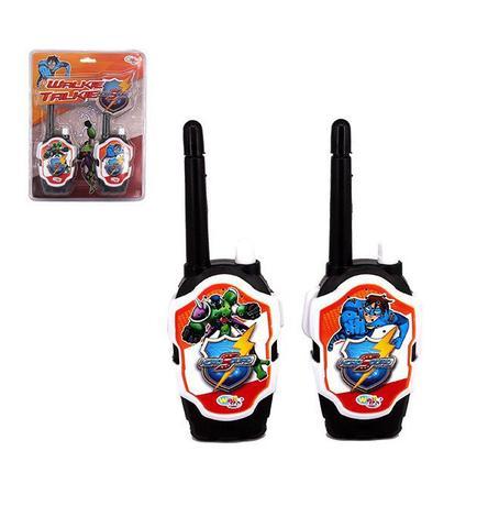 Imagem de Rádio comunicador walkie talkie infantil hero squad