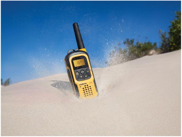 Imagem de Rádio Comunicador Walkie Talkie Intelbras RC4102