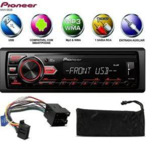 Imagem de Rádio De Carro Mvh-98ub Pioneer Usb Smartphone Android