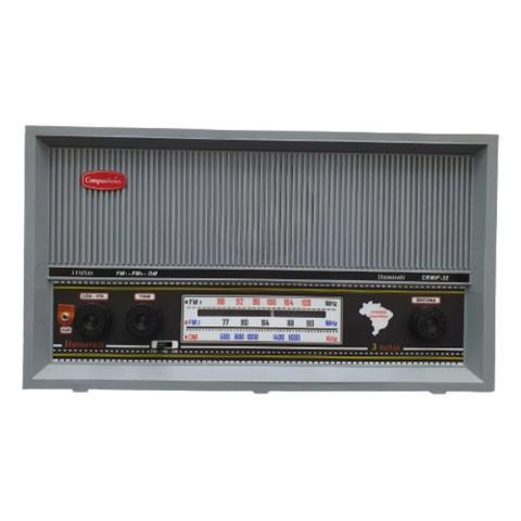 Imagem de Rádio Itamarati Mesa CRMIF 32 A pilha/127V Motobras