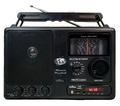 Imagem de Rádio Motobras 12 Faixas Com USB Bluetooth e Controle Remoto