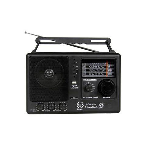 Imagem de Rádio Motobrás 8 Faixas FM OC com USB RM-PUSM81AC