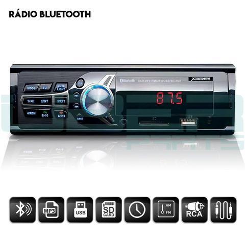 Imagem de Radio MP3 Bluetooth FM USB SD Automotivo